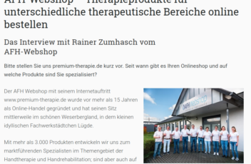 expertentesten.de - Das Interview mit Rainer Zumhasch