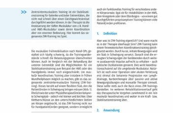 """Das ZIM-Trainingssystem """"Der Effekt von zyklischen Oszillationen"""" - Artikel von Katrin Veit und Rainer Zumhasch"""