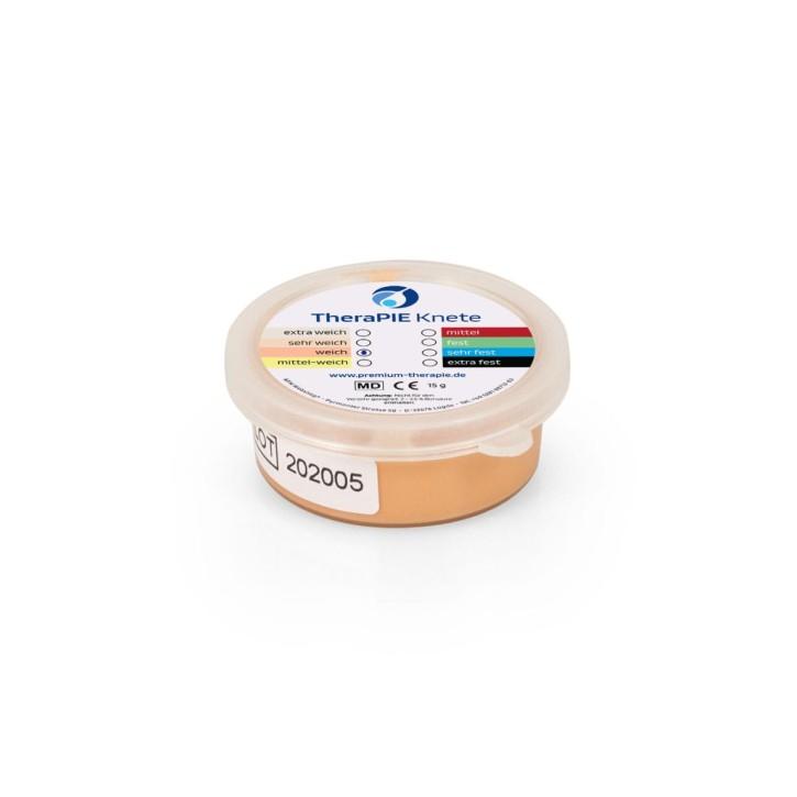 TheraPIE Knete MINI | 15 g | weich = beige