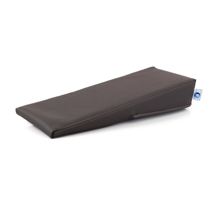 AFH Armlagerungskeil | hochwertiger Kunstlederbezug | 50 x 20 x 2-10 cm | anthrazit
