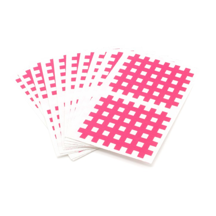 AFH Cross Tape Exclusive | Größe 3 | 45 x 52 mm | 20 Stück | pink