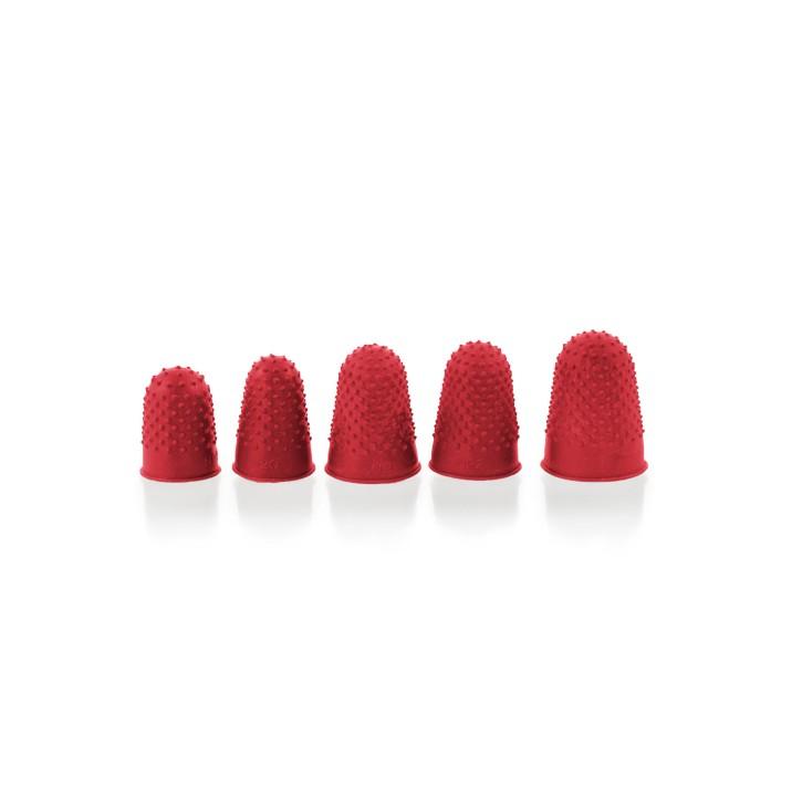 AFH Dermo Massager | Finger Cover | Finger Massager | pink Set SX-XL