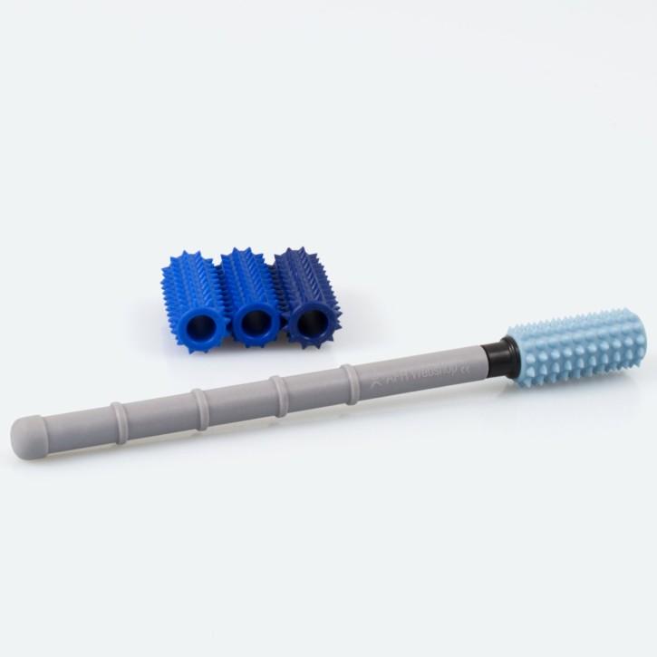 Dermo Massage Roller | klein | inklusive 4 Härtegrade | Design-Farben