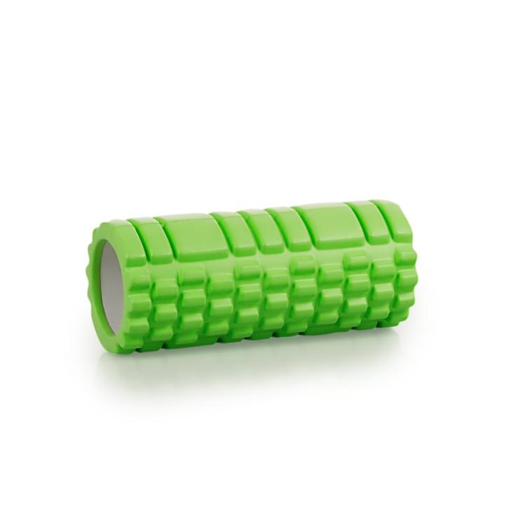 Faszien Foam Roller Deluxe mit Tasche | Länge: 33 cm | Ø 14 cm | grün
