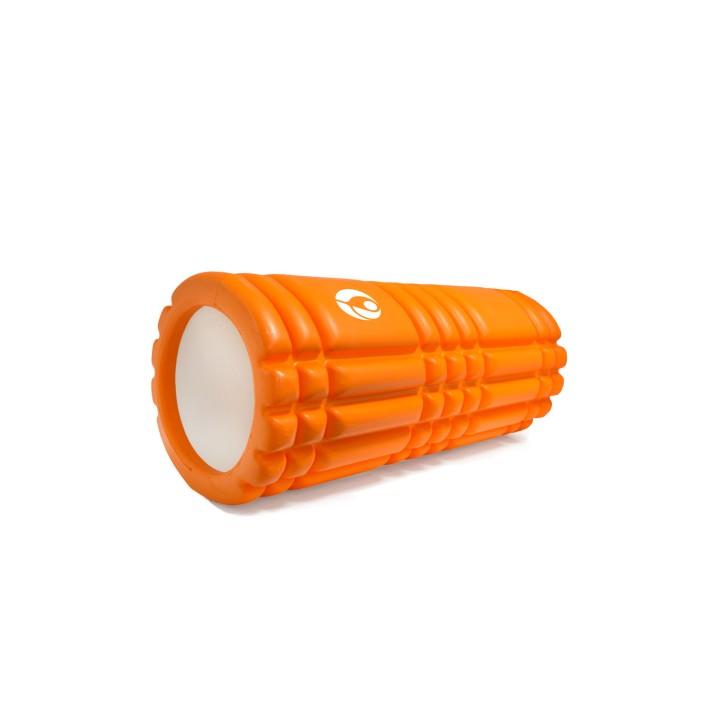 AFH Faszienrolle Precious | Länge: 33 cm | Ø 14 cm | mit Tasche | orange