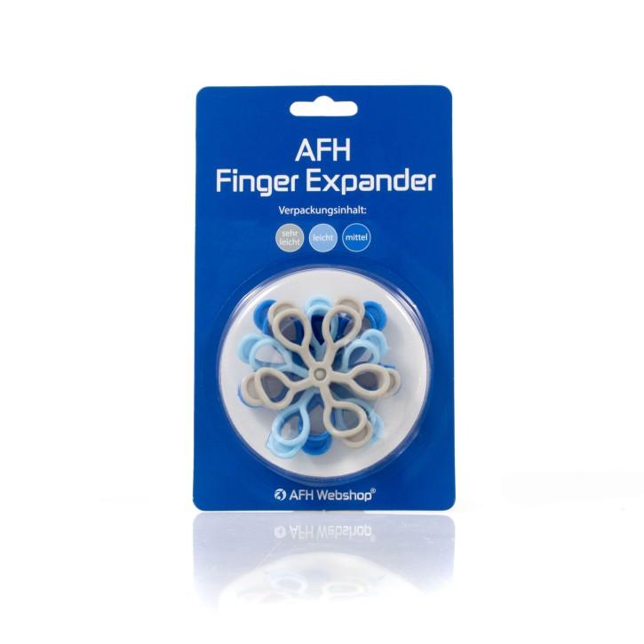 AFH Finger Expander | Fingertrainer | Handtrainer | 3er Set leicht
