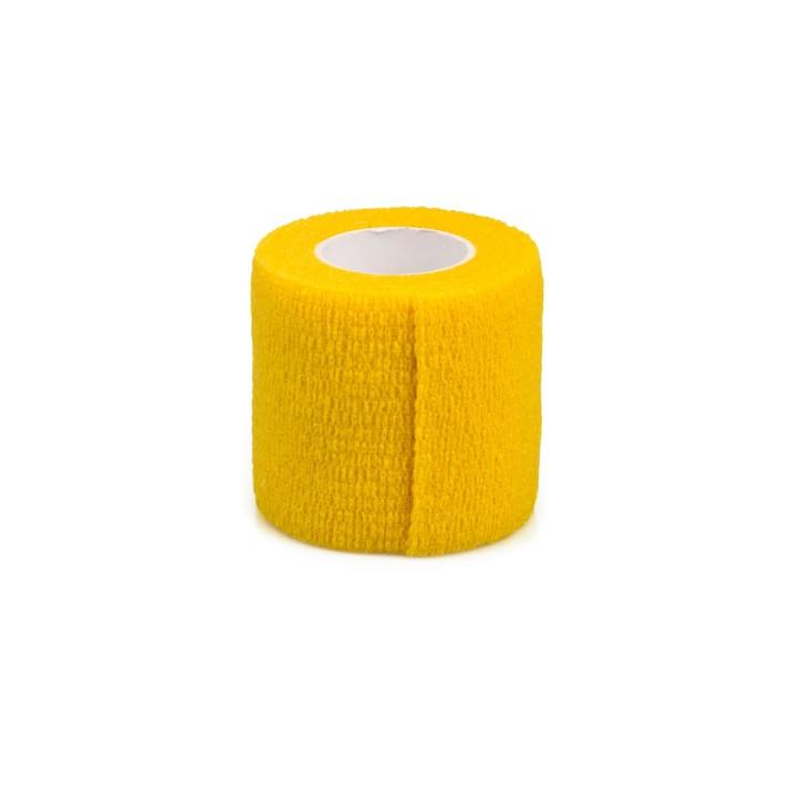 AFH Fixierbinde elastisch | 5 cm x 4,5 m | gelb