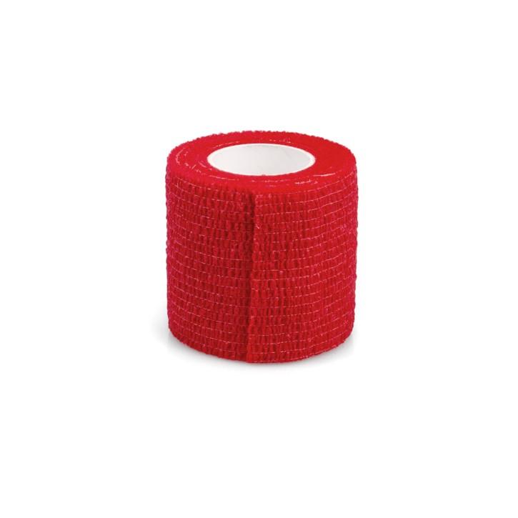 AFH Fixierbinde elastisch | 5 cm x 4,5 m | rot