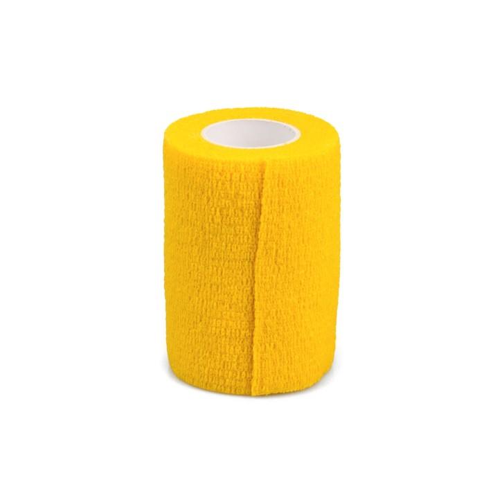 AFH Fixierbinde elastisch | 7,5 cm x 4,5 m | gelb