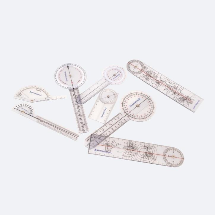 AFH Winkelmesser | Goniometer aus Kunststoff