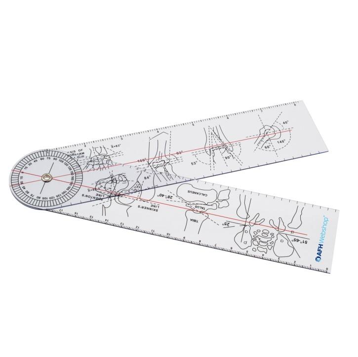 AFH Winkelmesser | Goniometer aus Kunststoff | Typ 1.0