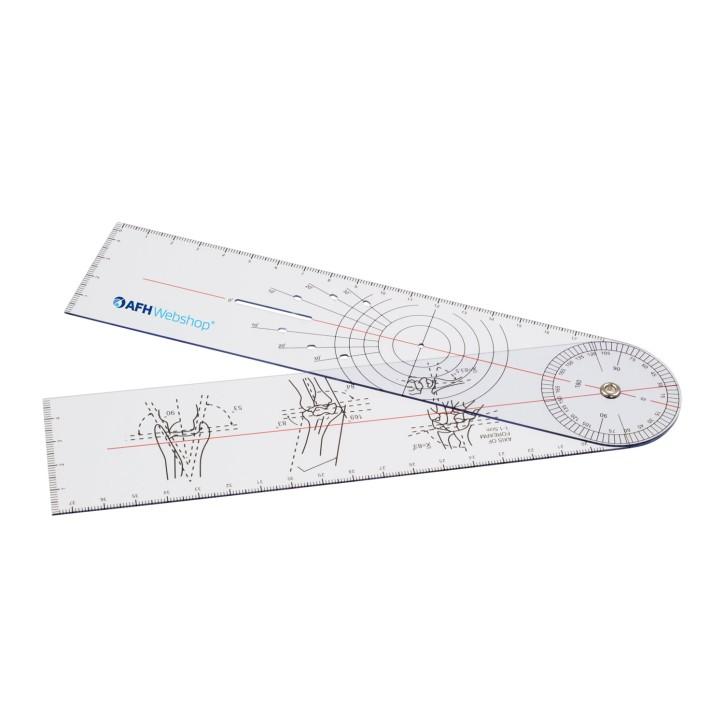 AFH Winkelmesser | Goniometer aus Kunststoff | Typ 2.0