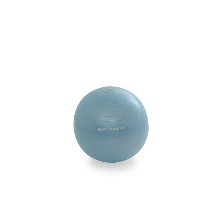 AFH TheraPIE Gymnastikball inkl. Pumpe | hellblau | ca. Ø 45 cm
