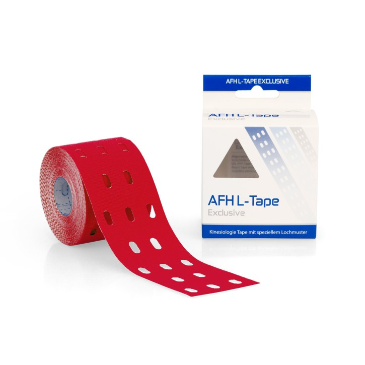 AFH L-Tape | 5,0 cm x 5 m | rot