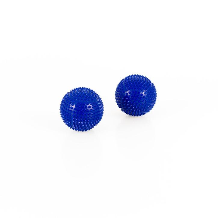 Magnet Akupunktur Massage Kugeln | 2 Stück | Ø 32 mm | blau