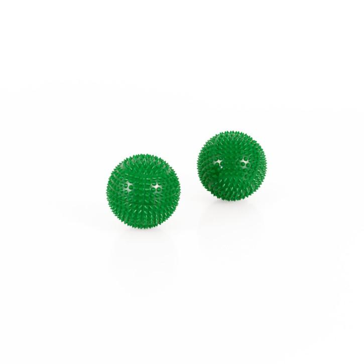Magnet Akupunktur Massage Kugeln | 2 Stück | Ø 32 mm | grün