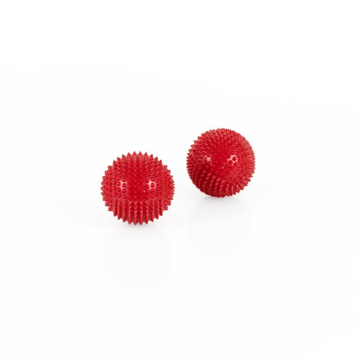 Magnet Akupunktur Massage Kugeln | 2 Stück | Ø 32 mm | rot