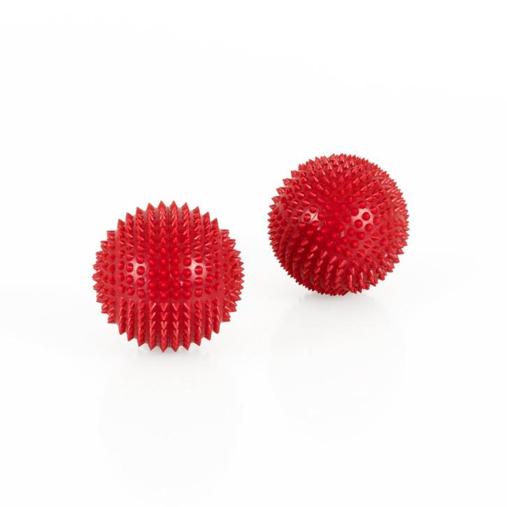 Magnet Akupunktur Massage Kugeln | 2 Stück | Ø 45 mm | rot
