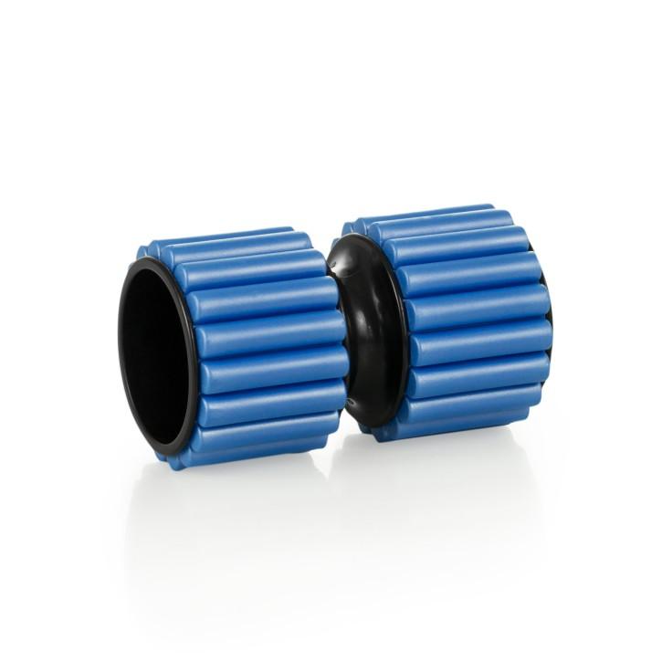 Massage Foam Roller   Faszien Roller   Größe 16 cm x 9,5 cm   blau