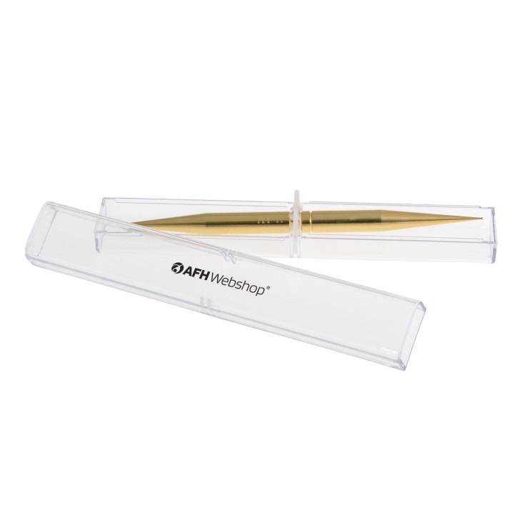Massagestäbchen | ExclusivLine | vergoldet | mit AFH-Box (sehr klein + klein)