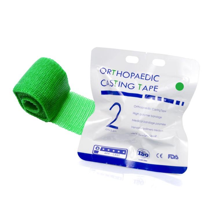 Orthopaedic Casting Tape | Fiberglass 5,0cm x 3,6m | grün
