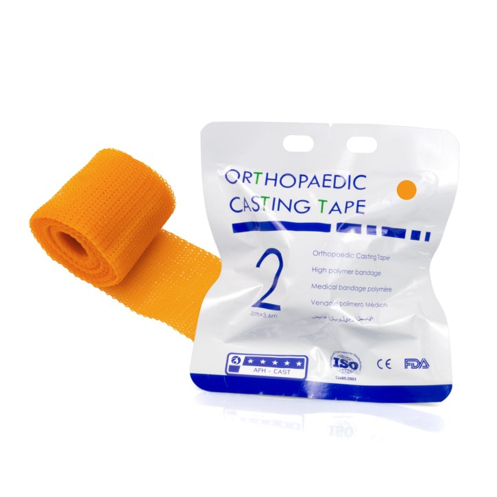 Orthopaedic Casting Tape | Fiberglass 5,0cm x 3,6m | orange | MHD erreicht