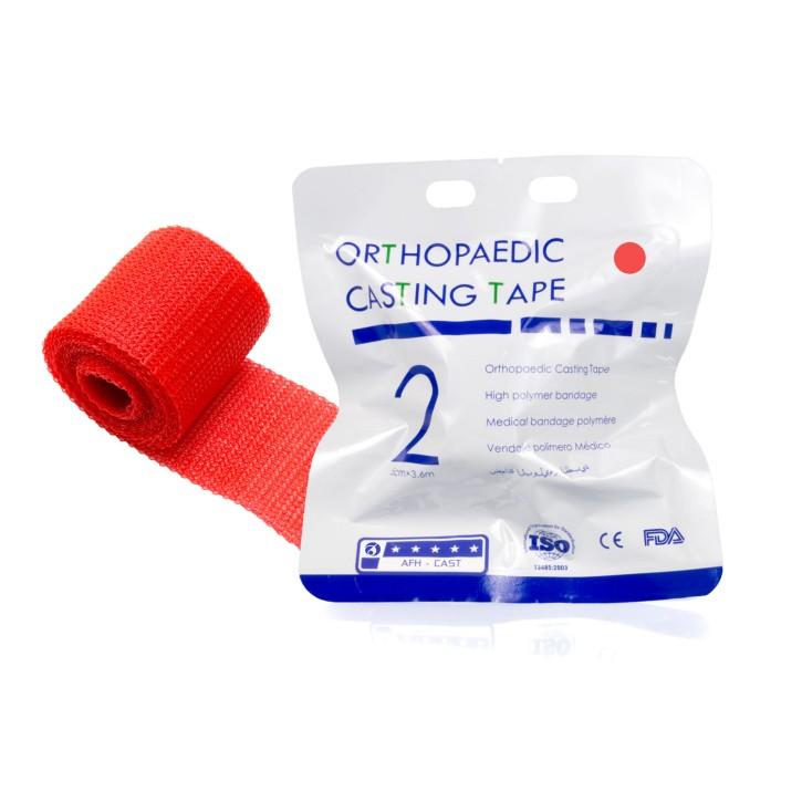 Orthopaedic Casting Tape | Fiberglass 5,0cm x 3,6m | rot