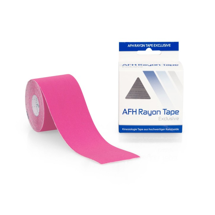 AFH Rayon Tape Exclusive | Kunstseide 5,0 cm x 5 m | pink