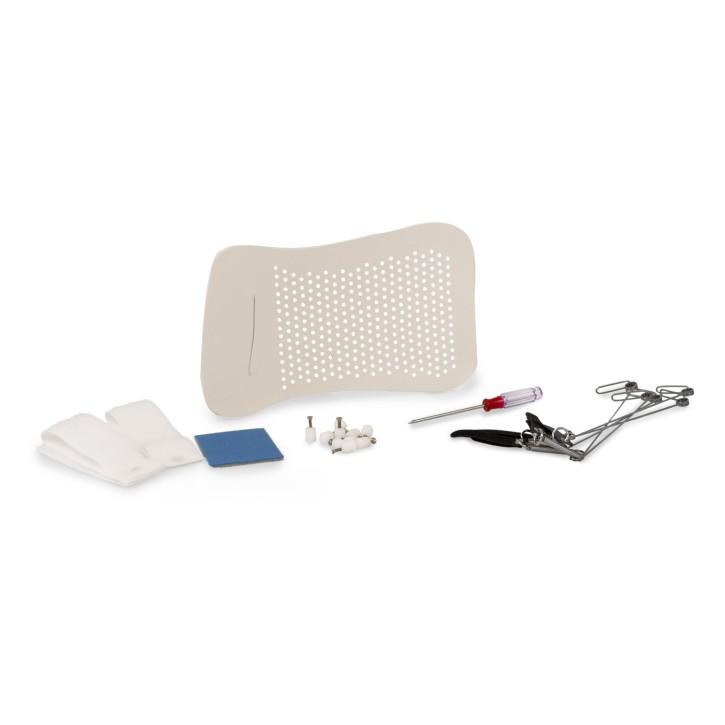 AFH | Set für Finger-Schiene | Schienenmaterial und Zubehör Premium | Flexion