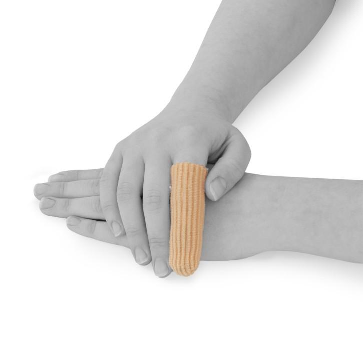 AFH Silikon Zehenschutz Premium | Fingerschutz geschlossen | 10-er Pack in verschiedenen Größen
