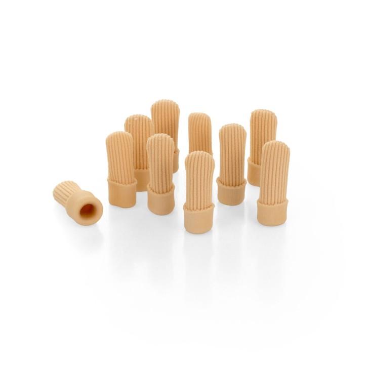 AFH Silikon Zehenschutz Premium | Fingerschutz geschlossen | 10-er Pack | S