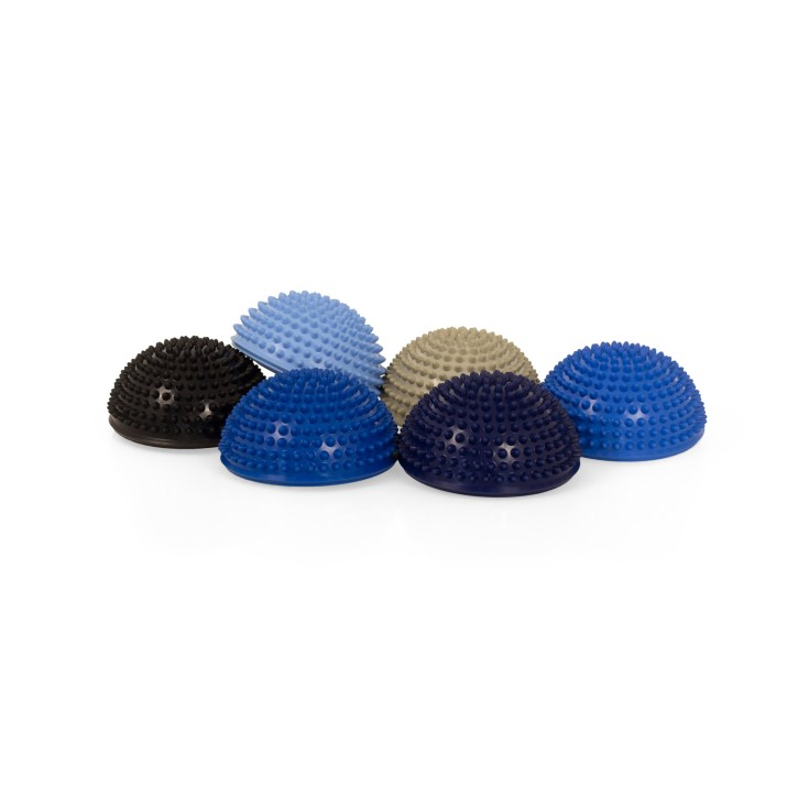 TheraPIE Balance Igel Premium Soft ca. Ø 16 cm | Blaue Variante | High Quality | 6er Set + Pumpe