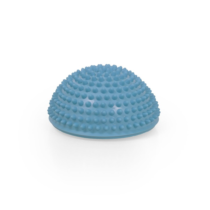 TheraPIE Balance Igel Premium Soft ca. Ø 16 cm   Blaue Variante   High Quality   hellblau