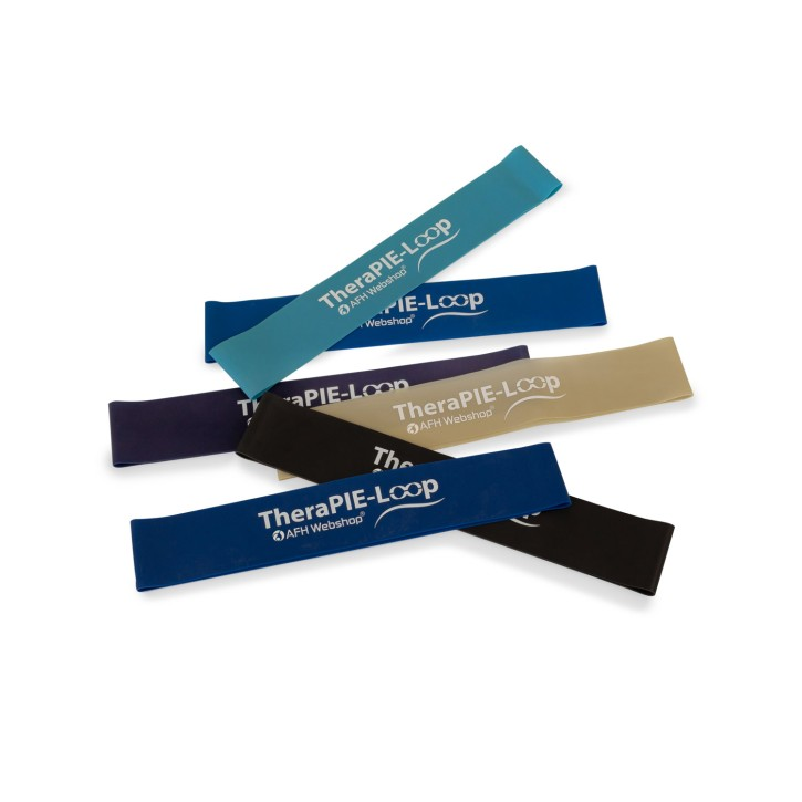 TheraPIE Loop XXL | Fitnessband | 30 cm x 5 cm | 6er Set