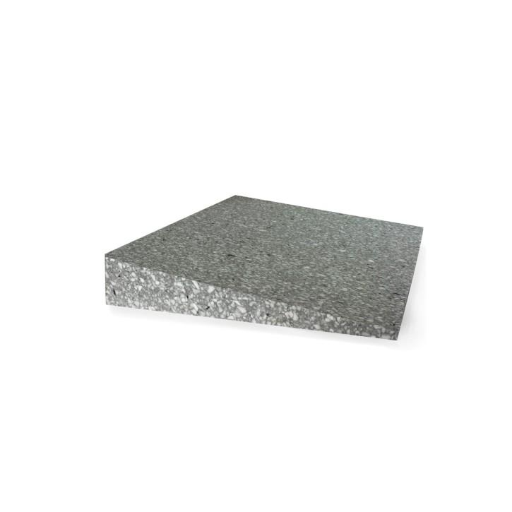 TheraPIE Keilkissen | Sitzkissen 380x380x70-80/10 mm | Verbund | dunkel