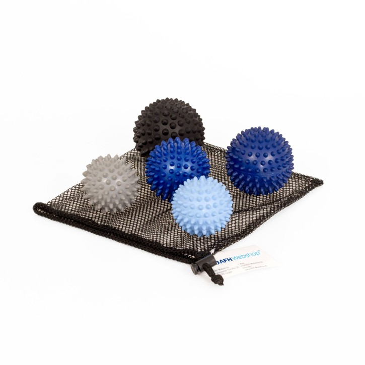 TheraPIE Massageball | Igelball SOFT Deluxe | 5er Set