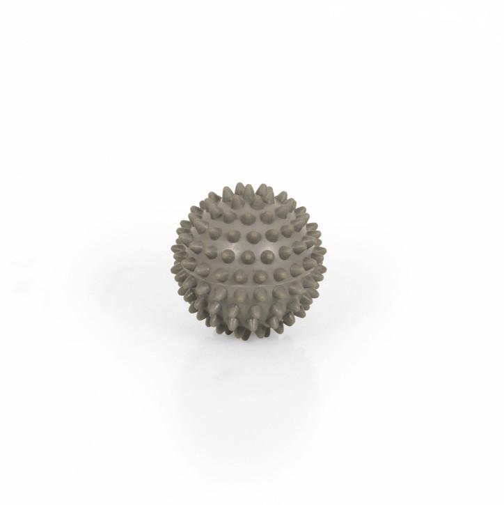 TheraPIE Massageball | Igelball SOFT Deluxe | 6,0 cm = hellgrau
