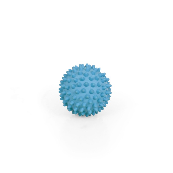 TheraPIE Massageball | Igelball SOFT Deluxe | 7,0 cm = hellblau