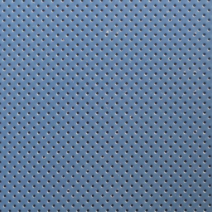 Thermoplastisches Schienenmaterial | IMMO + NS | micro perforiert | 1,6mm | blau
