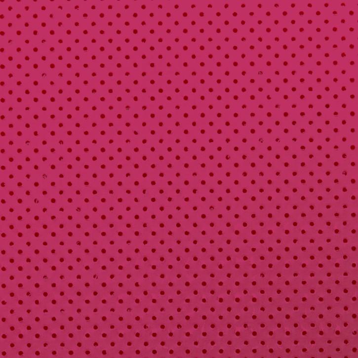 Thermoplastisches Schienenmaterial | IMMO + NS | micro perforiert | 1,6mm | pink