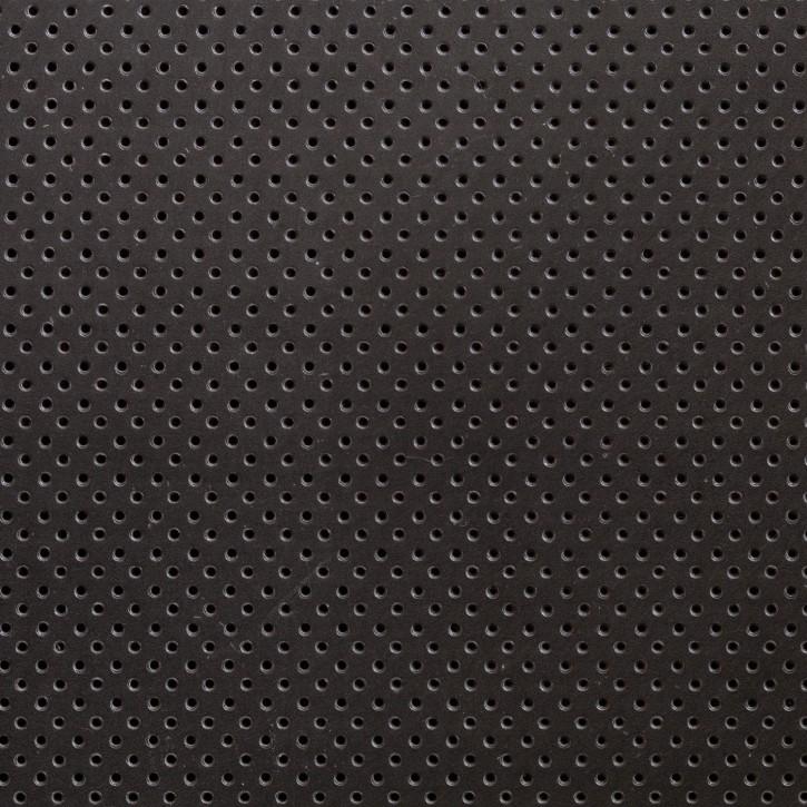 Thermoplastisches Schienenmaterial | IMMO + NS | micro perforiert | 1,6mm | schwarz