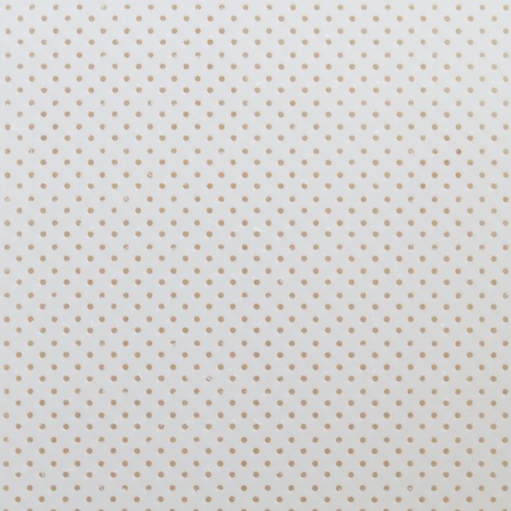Thermoplastisches Schienenmaterial | IMMO + NS | micro perforiert | 2,0mm | weiß