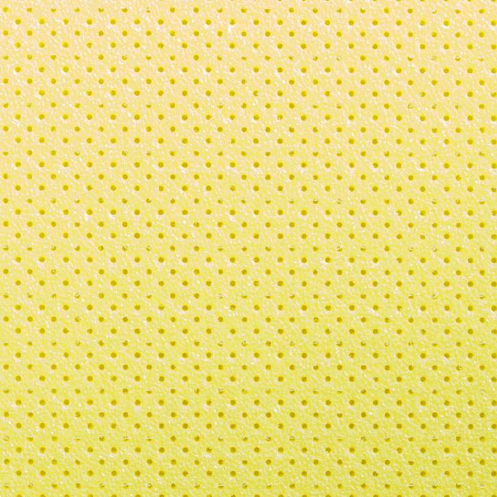 Thermoplastisches Schienenmaterial   Turbocast®   micro perforiert   0,8mm   gelb