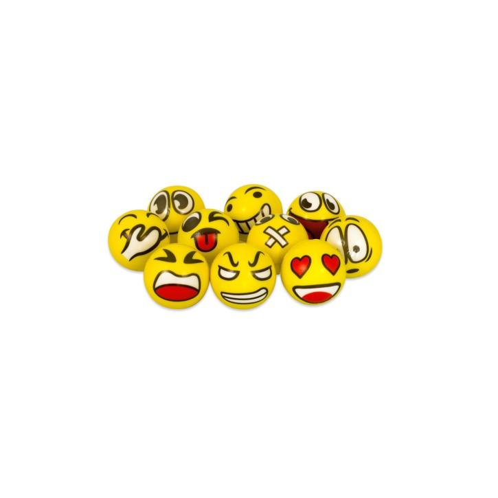 Anti Stress Ball | Emoji Motive | 10er Pack