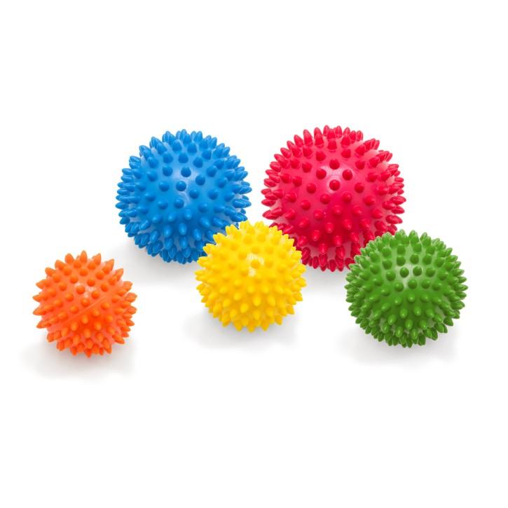 Arthro Sensorik Ball 2.0 | Igelball | Massageball | 5er Set alle Größen