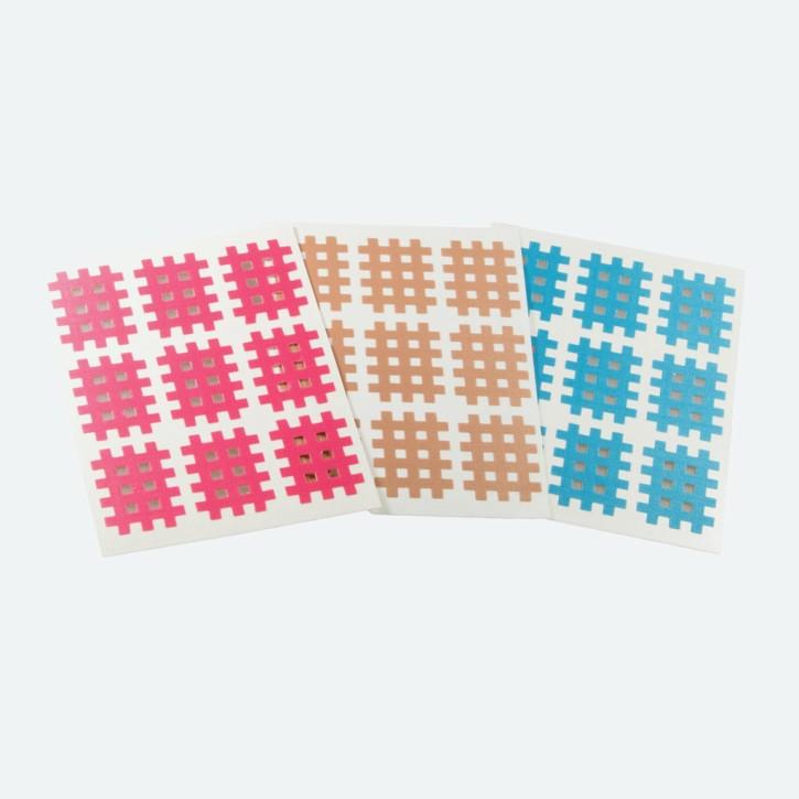 Cross Tape | 27 x 20 mm | 180 Stück | Abverkauf MHD erreicht | Pink