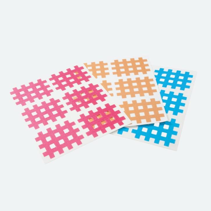 Cross Tape | 35 x 27 mm | 120 Stück | pink | Abverkauf MHD erreicht