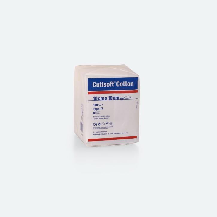 Cutisoft® Cotton Kompressen   Baumwolle