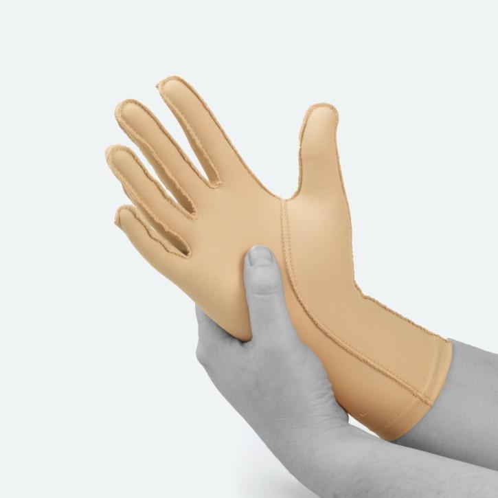 EDEMA Light | FullFinger | Ödem Handschuh | L | beige
