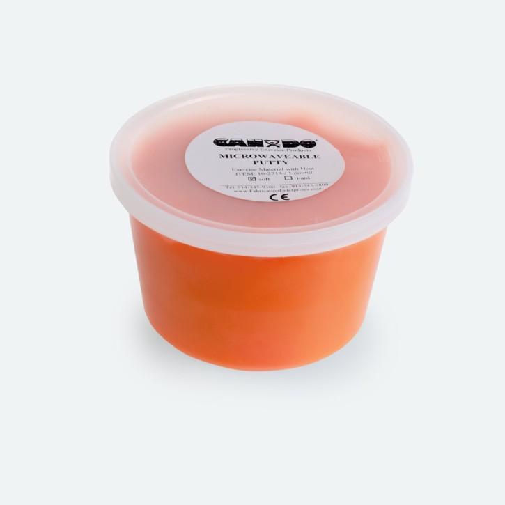 Knete für die Mikrowelle | Cando® | 453 g | soft | orange